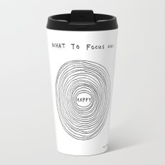 What to focus on Travel Mug