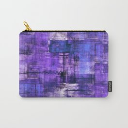 Purple Noise Carry-All Pouch