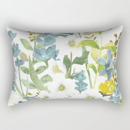 Wildflowers VI Rectangular Pillow