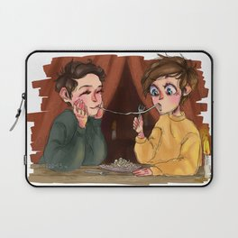 h&l as lady and the tramp Laptop Sleeve