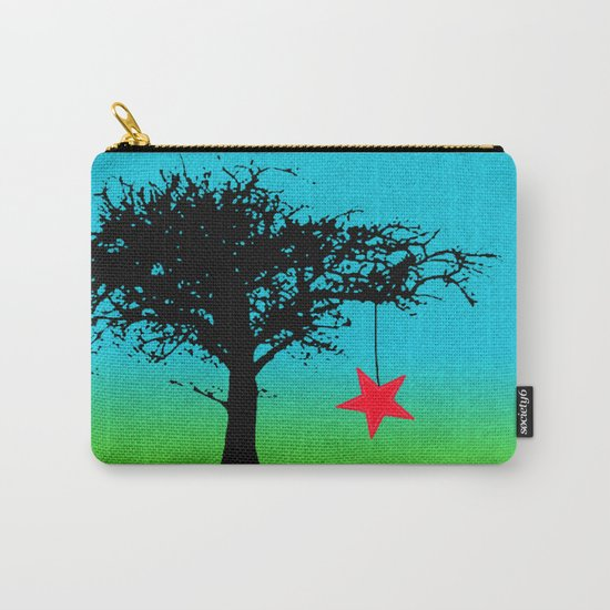 Star in the tree Carry-All Pouch