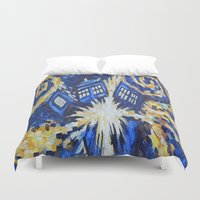 dr who Duvet Covers featuring Dr Who by giftstore2u