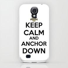 Keep Calm And Anchor Down / Vanderbilt University Slim Case Galaxy S4