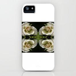 Kaleidoscope Peach iPhone Case