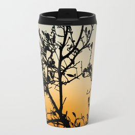 Austin Sunset in Winter Travel Mug