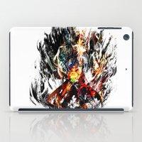 gurren lagann iPad Cases featuring  Kamina by ururuty