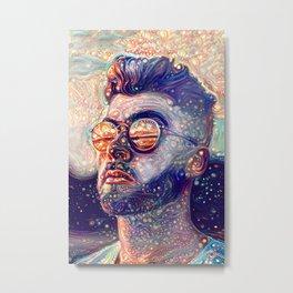 Dreamy Portrait II Metal Print