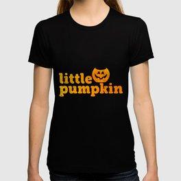 Little Pumpkin   Halloween Kids Scary Creepy Child T-shirt