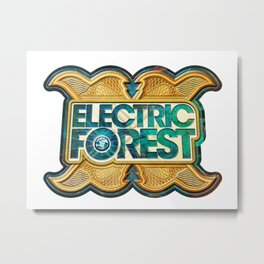 ELECTRIC FOREST DECADE ONE FESTIVAL 2020 Metal Print