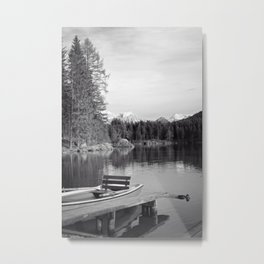 black and white magic II Metal Print