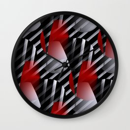 crazy patterns -4- Wall Clock