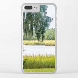 By the Bayou Clear iPhone Case