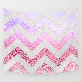 FUNKY MELON PINKBERRY Wall Tapestry