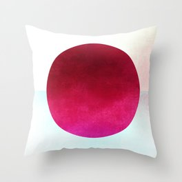 Cicle Composition XI Throw Pillow