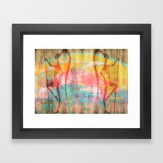 African Beauties Framed Art Print