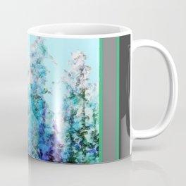 Grey  Blue Mountain Nature Landscape Blue-Greens Coffee Mug