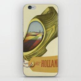Vintage poster - Holland iPhone Skin