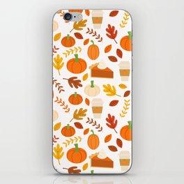 Everything Autumn iPhone Skin