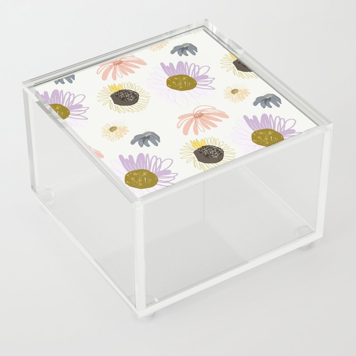 Wildflower Acrylic Box
