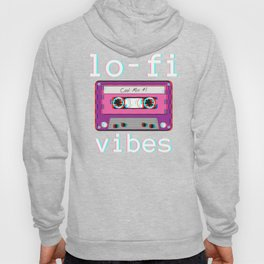 Low Fidelity Music product Aesthetic Tape Lo - fi Vibes design Hoody