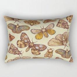 Moth Pattern Rectangular Pillow
