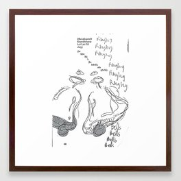 Ringing Bells Framed Art Print