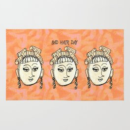 Bad Hair Day Rug