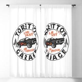 Fast & Furious - Toretto's Garage Blackout Curtain