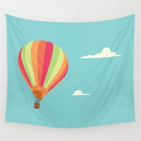 balloon Wall Tapestries featuring Balloon by Studio du flamant rose