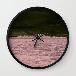 SEA - SNOW - OCEAN - ICE - COLD - COOL - PHOTOGRAPHY Wall Clock