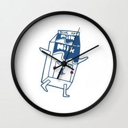 Blur Milk Box Wall Clock