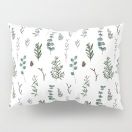 Pine and Eucalyptus Pillow Sham