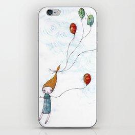 Balloonessa iPhone Skin