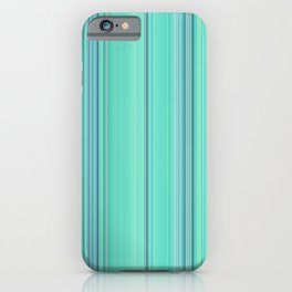 Abstract mixed stripes Green1 iPhone Case