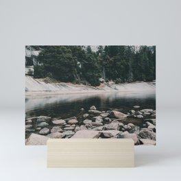 Rocky Water, Yosemite Mini Art Print