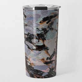 Tom Thomson ‑ Evening, Pine Island - Canada, Canadian Oil Painting - Group of Seven Travel Mug