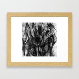 Vortex I - fragment  Framed Art Print
