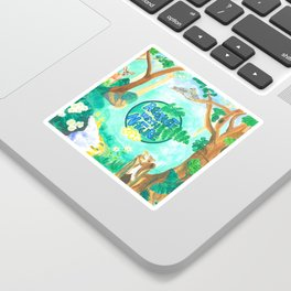 Medilludesign Ecotherapy Forest 2 Sticker