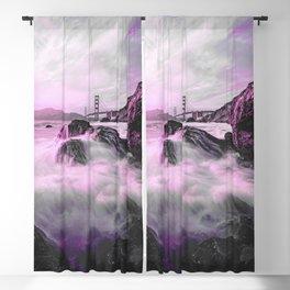 Golden Gate Bridge II Blackout Curtain