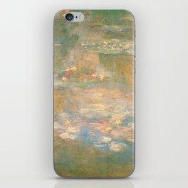 Water Lilies Claude Monet 1908 iPhone Skin