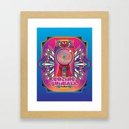 Cosmic Gumball Framed Art Print