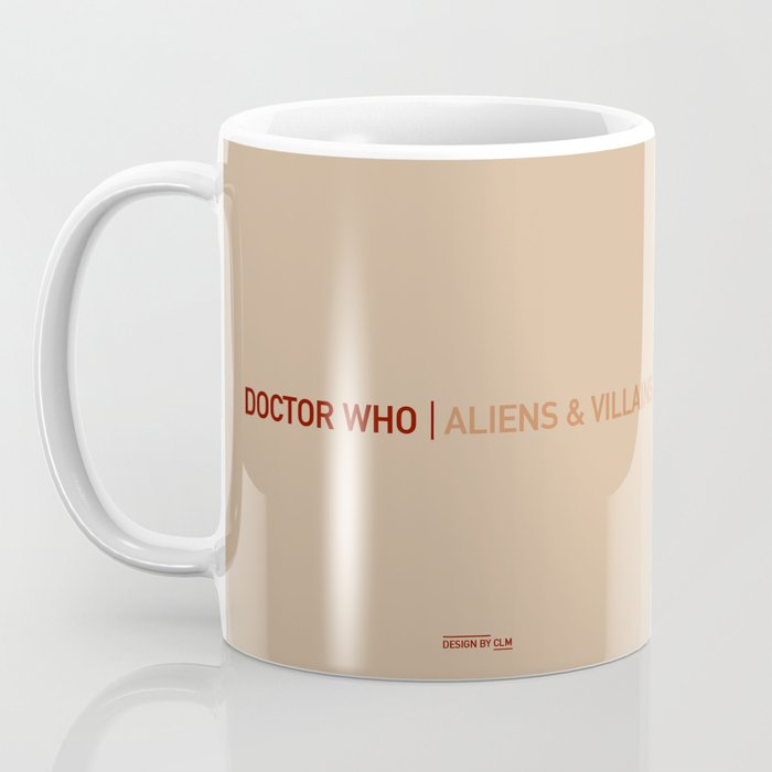 Doctor Who | Aliens & Villains Coffee Mug