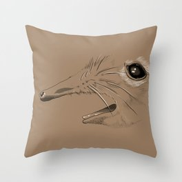 Take A Closer Look At That Snout! Throw Pillow
