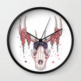 Wolf Skull Wall Clock