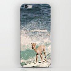 NEVER STOP EXPLORING - SURFING HAWAII iPhone & iPod Skin
