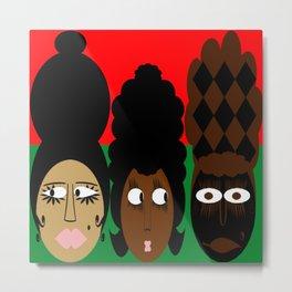 bbnyc 3 african women Metal Print