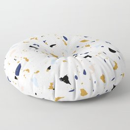 Seaside Terrazzo 1 Floor Pillow