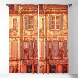 The Old Neighborhood, Rustic Buildings Blackout Curtain