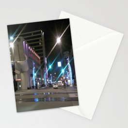 Cue the Laser Show Stationery Cards