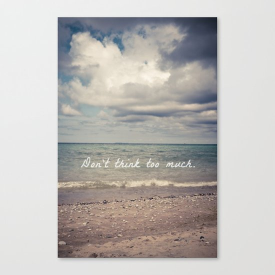 Flow With Life Canvas Print